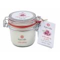 Солевой пиллинг для тела с маслом розы (стекло, 200 гр)