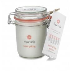 Солевой пиллинг для тела с оливковым маслом